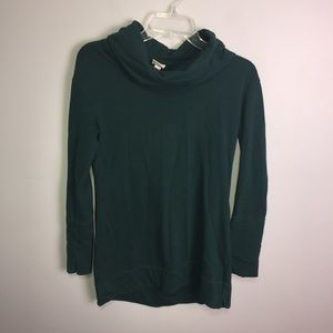 Merona Jade Green Cowl Neck Pullover Size Small